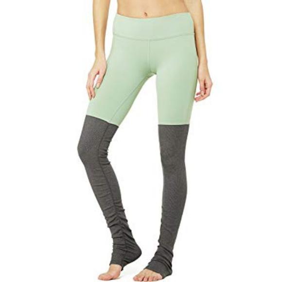 5cdae1f1df ALO Yoga Pants - 🍬ALO Yoga    Mint Goddess Leggings